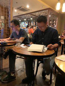 Mr. Zhao & Jacky