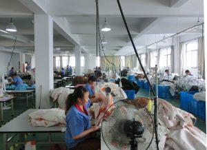 factory sewing ladies